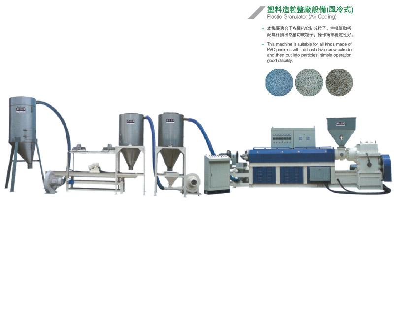 塑料造粒整厂设备(风冷式)