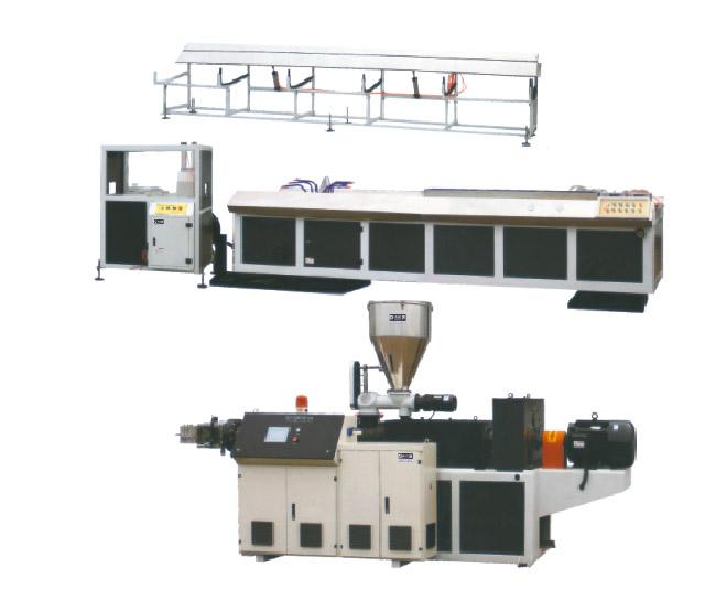 PP、PE、PVC木塑型材生产线