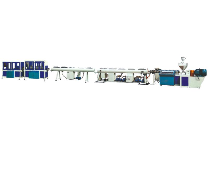 常用口径HDPE管材挤出生产